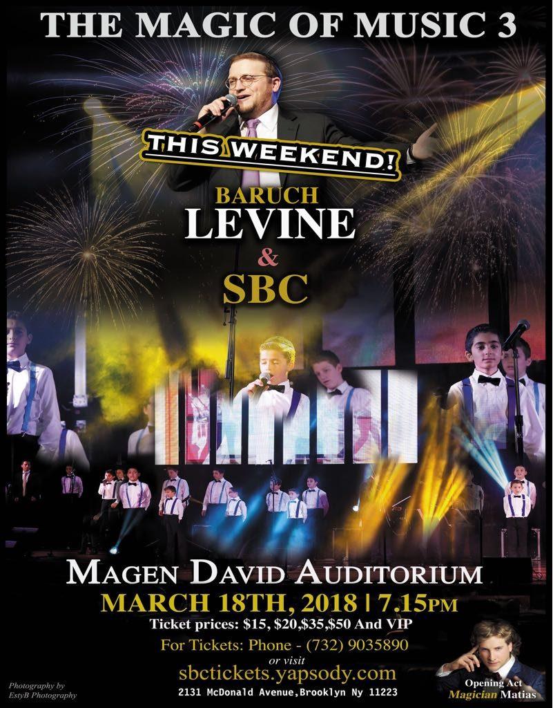 The Magic of Music 3: Baruch Levine & SBC – JE Network