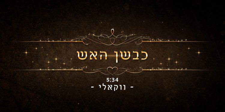 Avremy Goldstein - Kivshan Ha'Aish