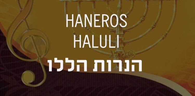 Dovid Pinter - Haneros Haluli