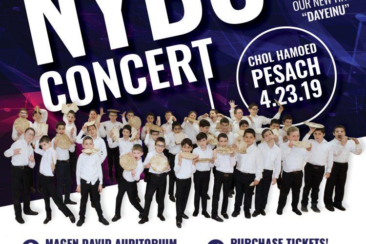NYBC Pesach Concert Insta