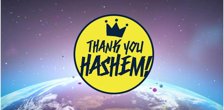 Thank You Hashem - DJ Niso Slob Official Remix