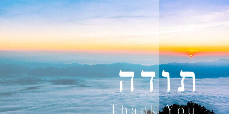 Shlomo Katz - Todah