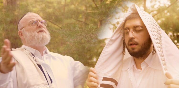 YT Thumbnail • Al Das Hamukom • Michoel Schnitzler & Yossi Lebowitz @MusicOnTime